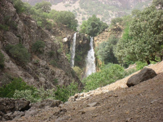 Sheyvand waterfall
