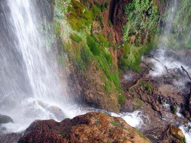 Sheyvand waterfall